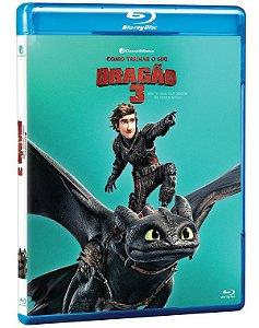 Blu Ray Como Treinar O Seu Dragão 3 - Pré venda 19/05/21