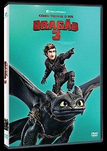 DVD Como Treinar O Seu Dragão 3