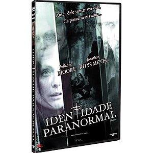 Identidade Paranormal  DVD