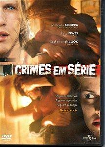 Dvd  Crimes Em Série  Annabella Sciorra