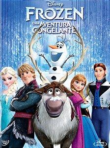 Blu Ray  DVD  Frozen  Uma Aventura Congelante  2 Discos