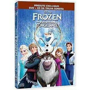 Dvd  Cd  Frozen  Uma Aventura Congelante  2 Discos