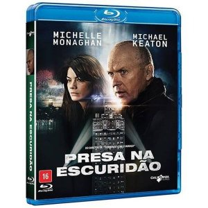 Blu Ray  Presa Na Escuridão  Michael Keaton