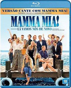 Blu-ray - Mamma Mia - Lá Vamos Nós De Novo