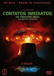 Dvd Triplo  Contatos Imediatos Do Terceiro Grau  Steven Spielberg