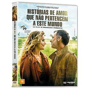 DVD Histórias de Amor Que Não Pertencem a Este Mundo