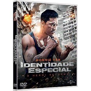 DVD Identidade Especial: O Herói Retorna - Donnie Yen