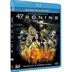 Blu-Ray 2d + Blu-Ray 3d - 47 Ronins