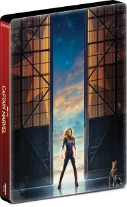 BLU RAY Steelbook - Capitã Marvel