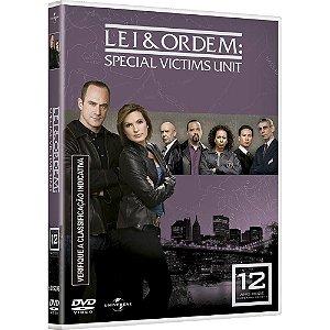 DVD Lei & Ordem - Special Victims Unit - 12 TEMP  - 5 Discos
