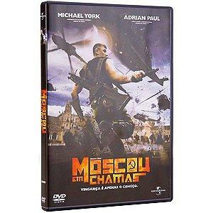 Dvd  Moscou Em Chamas  Adrian Paul