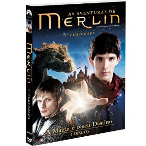 DVD  As Aventuras de Merlin  1ª Temporada 4 discos