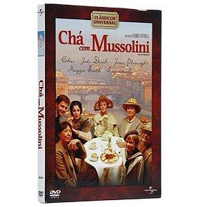 DVD  Chá Com Mussolini