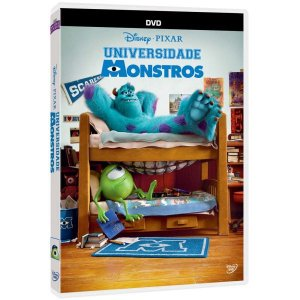 DVD Universidade de Monstros