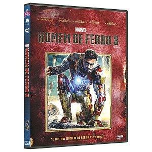 DVD - Homem De Ferro 3