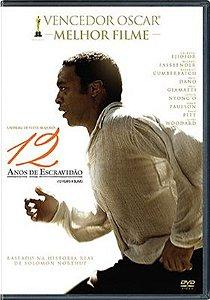 DVD 12 Anos De Escravidão