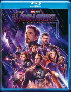 Blu-Ray Vingadores: Ultimato