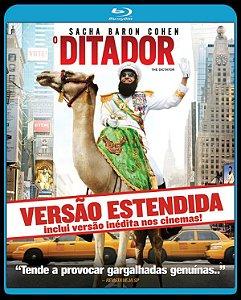 Blu ray - O Ditador - Vesão Estendida - Sacha Baron Cohen