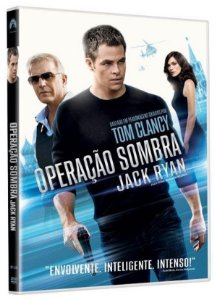 Dvd - Operação Sombra: Jack Ryan - Chris Pine