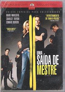 Dvd - Uma Saída De Mestre - Mark Wahlberg