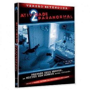 Dvd - Atividade Paranormal 2 - Versão Estendida