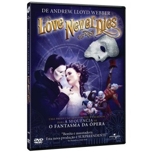 DVD - Love Never Dies - Andrew Lloyd Webber