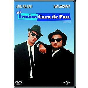DVD - OS IRMÃOS CARA DE PAU