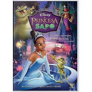DVD - A Princesa e o Sapo