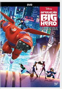 DVD OPERAÇAO BIG HERO