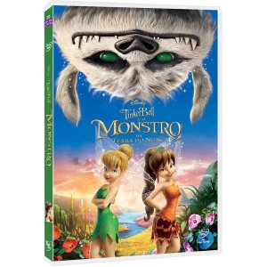 DVD Tinker Bell e o Monstro da Terra do Nunca