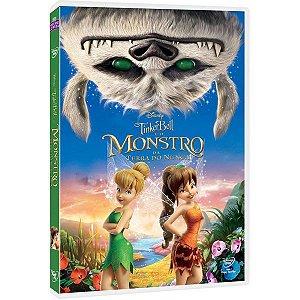 DVD Tinker Bell e o Monstro da Terra do Nunca
