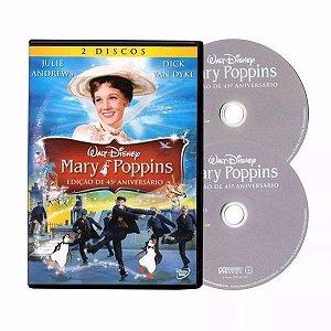 DVD - MARY POPPINS - EDIÇÃO DE 45 ANOS (DUPLO)