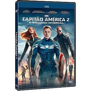 DVD - CAPITÃO AMÉRICA 2 - O SOLDADO INVERNAL