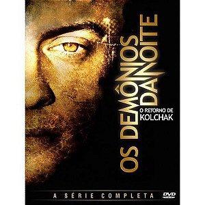 DVD Os Demônios Da Noite O Retorno De Kolchak - Completa