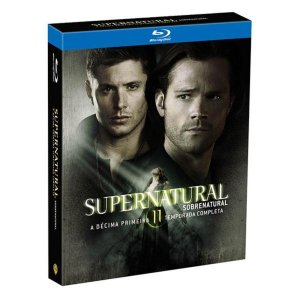 Blu-Ray Supernatural - Sobrenatural - 11ª Temporada