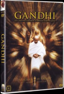 DVD Gandhi - Seu Triunfo Mudou o Mundo para Sempre
