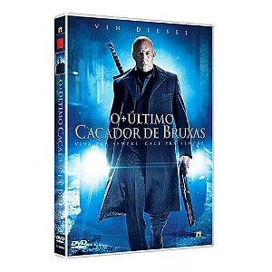 DVD O ÚLTIMO CAÇADOR DE BRUXAS - Vin Diesel