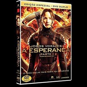 DVD DUPLO JOGOS VORAZES - A ESPERANÇA - PARTE 1