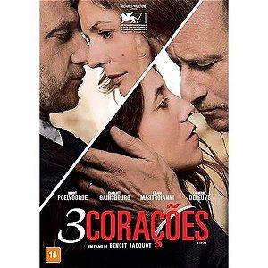 DVD 3 CORAÇOES - CHARLOTTE GAINSBOURG