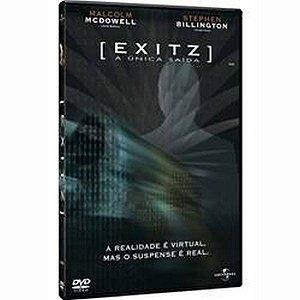 DVD  EXITZ - A UNICA SAIDA - MALCOLM  MCDOWELL