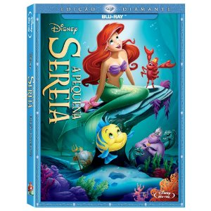 Blu-ray - A Pequena Sereia - Edição Diamante