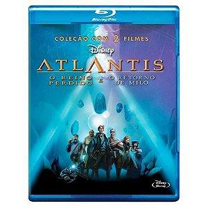 Blu-Ray Atlantis, O Reino Perdido + O Retorno De Milo