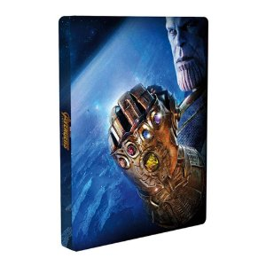 Vingadores Guerra Infinita - Steelbook - Blu-Ray + 3D