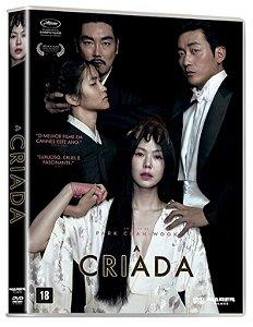DVD A CRIADA - PARK CHAN WOOK