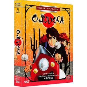 DVD BOX O JUDOCA - 4 DISCOS
