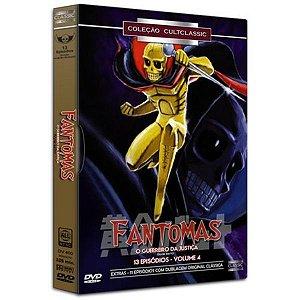 DVD BOX Fantomas - Guerreiro Da Justiça Vol 4