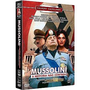 DVD BOX - Mussolini - A História Não Contada (3 Discos)