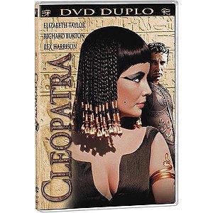 DVD Duplo - Cléopatra - Elizabeth Taylor