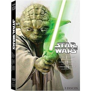 Dvd Coleção Star Wars - A Nova Trilogia - 3 Discos