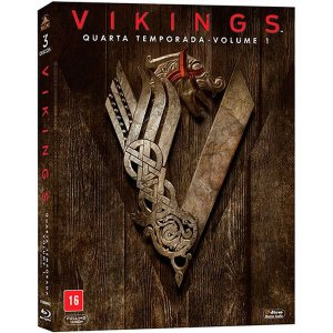 Blu-Ray Vikings - Quarta Temporada Vol 1 (3 Bds)